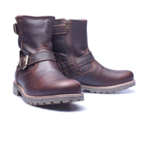 1d4ef1a81a3b97 Panama Jack – Faust Igloo – Kastanje bruin leren laars – Elias Shoes ...